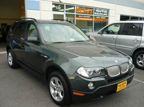 2008 BMW X3 for sale at Nexus Auto Sales in Chantilly VA