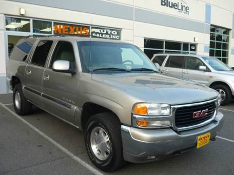 2001 GMC Yukon XL for sale at Nexus Auto Sales in Chantilly VA
