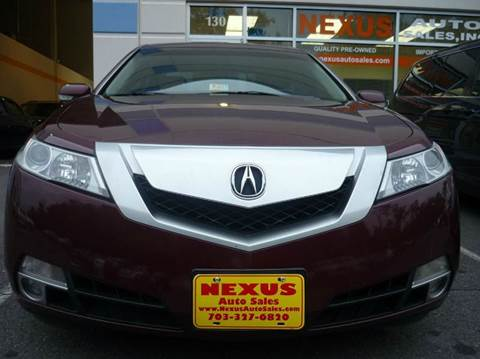 2009 Acura TL for sale at Nexus Auto Sales in Chantilly VA