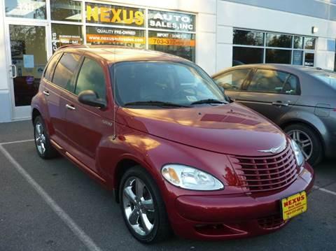 2005 Chrysler PT Cruiser for sale at Nexus Auto Sales in Chantilly VA