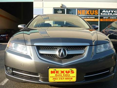 2008 Acura TL for sale at Nexus Auto Sales in Chantilly VA