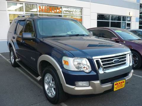 2006 Ford Explorer for sale at Nexus Auto Sales in Chantilly VA