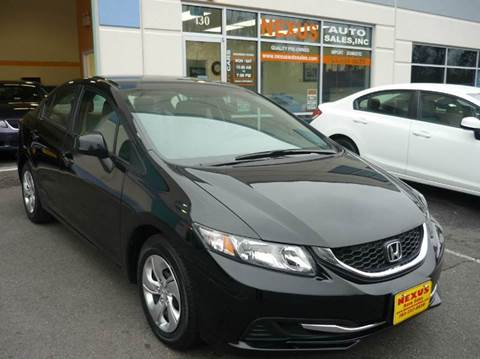 2013 Honda Civic for sale at Nexus Auto Sales in Chantilly VA