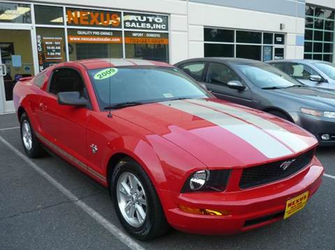 2009 Ford Mustang for sale at Nexus Auto Sales in Chantilly VA
