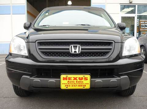 2004 Honda Pilot for sale at Nexus Auto Sales in Chantilly VA