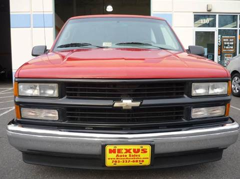1995 Chevrolet C/K 1500 Series for sale at Nexus Auto Sales in Chantilly VA
