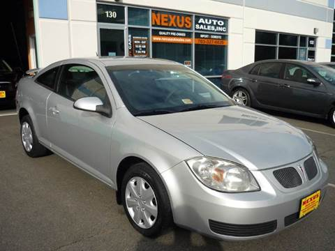 2007 Pontiac G5 for sale at Nexus Auto Sales in Chantilly VA