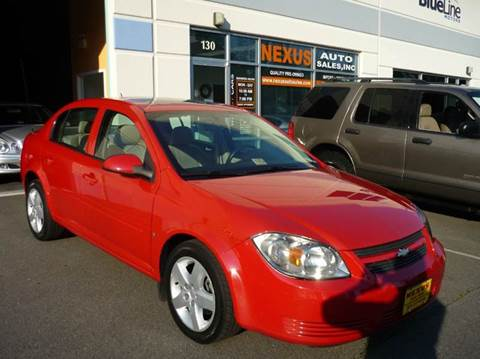 2008 Chevrolet Cobalt for sale at Nexus Auto Sales in Chantilly VA