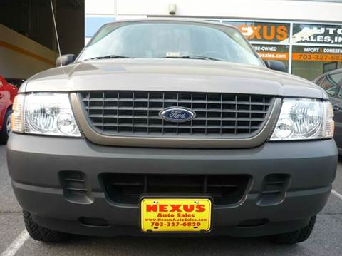 2004 Ford Explorer for sale at Nexus Auto Sales in Chantilly VA