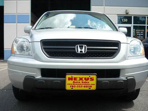 2003 Honda Pilot for sale at Nexus Auto Sales in Chantilly VA