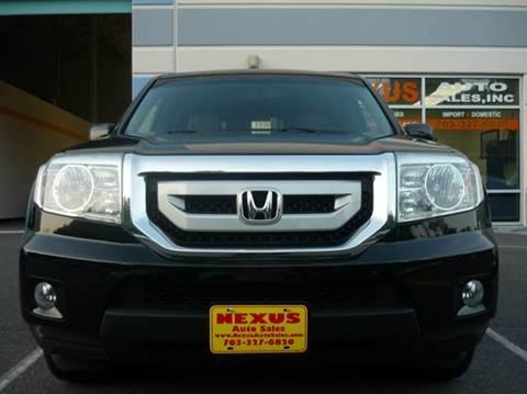 2009 Honda Pilot for sale at Nexus Auto Sales in Chantilly VA
