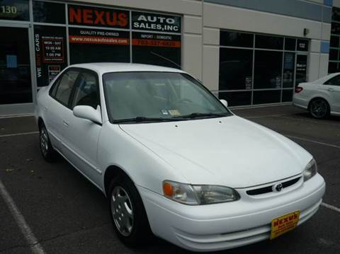 1999 Toyota Corolla for sale at Nexus Auto Sales in Chantilly VA