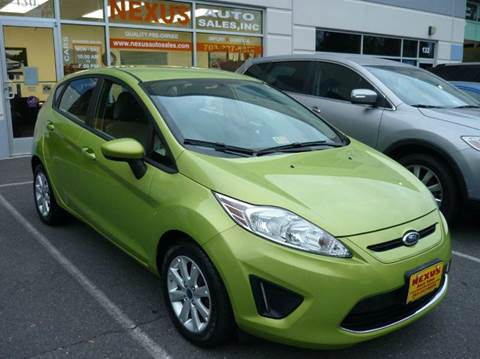 2011 Ford Fiesta for sale at Nexus Auto Sales in Chantilly VA