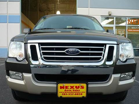 2007 Ford Explorer for sale at Nexus Auto Sales in Chantilly VA