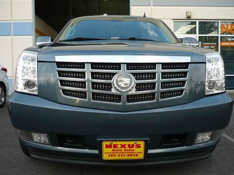 2008 Cadillac Escalade for sale at Nexus Auto Sales in Chantilly VA