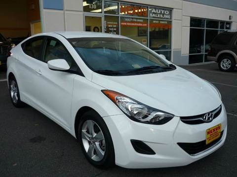 2013 Hyundai Elantra for sale at Nexus Auto Sales in Chantilly VA