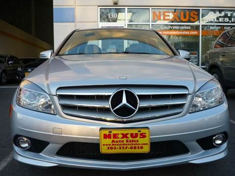 2010 Mercedes-Benz C-Class for sale at Nexus Auto Sales in Chantilly VA