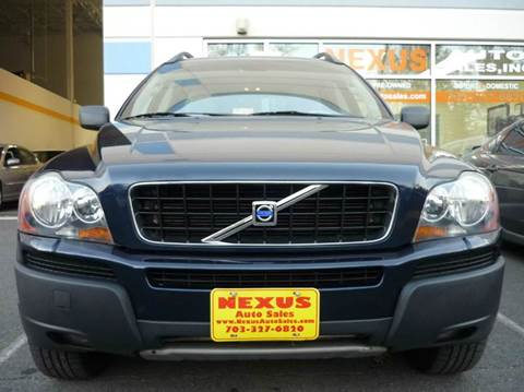 2004 Volvo XC90 for sale at Nexus Auto Sales in Chantilly VA
