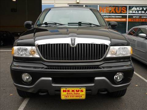 2001 Lincoln Navigator for sale at Nexus Auto Sales in Chantilly VA
