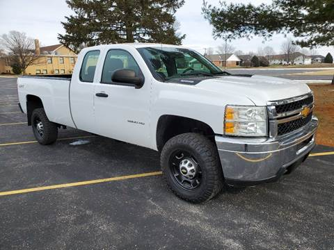 2012 Chevrolet Silverado 2500HD for sale at Tremont Car Connection in Tremont IL