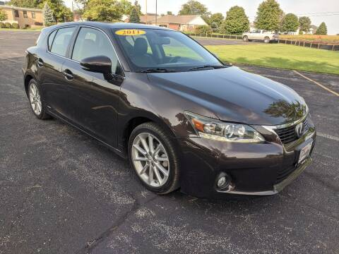 2011 Lexus CT 200h for sale at Tremont Car Connection in Tremont IL