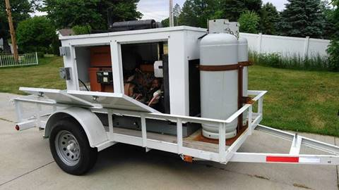 2005 INDUSTRIAL GENERATOR LIKE NEW WITH TRAILER