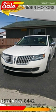 2012 Lincoln MKZ for sale in Mishawaka, IN
