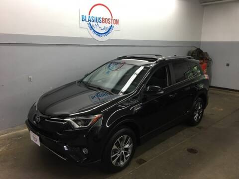 2017 Toyota RAV4 Hybrid for sale at WCG Enterprises in Holliston MA