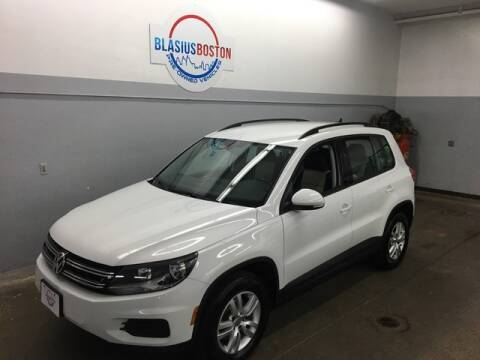 2017 Volkswagen Tiguan for sale at WCG Enterprises in Holliston MA