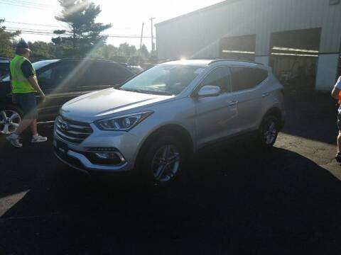 2018 Hyundai Santa Fe Sport for sale at WCG Enterprises in Holliston MA