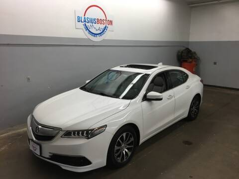 2017 Acura TLX for sale at WCG Enterprises in Holliston MA