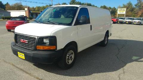 2012 GMC Savana Cargo for sale in Pelham, NH