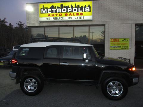 2008 Toyota FJ Cruiser for sale at Metropolis Auto Sales in Pelham NH