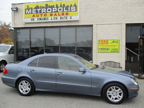 2007 Mercedes-Benz E-Class for sale at Metropolis Auto Sales in Pelham NH
