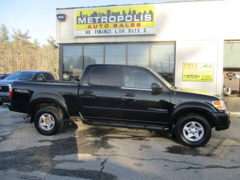 2004 Toyota Tundra for sale at Metropolis Auto Sales in Pelham NH