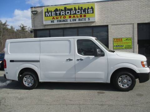 2013 Nissan NV Cargo for sale at Metropolis Auto Sales in Pelham NH
