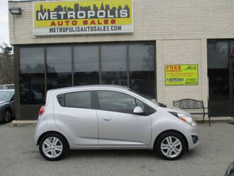 2014 Chevrolet Spark for sale at Metropolis Auto Sales in Pelham NH