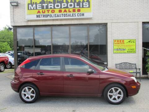 2006 Ford Focus for sale at Metropolis Auto Sales in Pelham NH