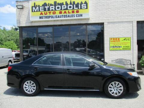 2013 Toyota Camry for sale at Metropolis Auto Sales in Pelham NH
