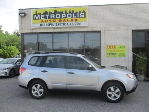 2012 Subaru Forester for sale at Metropolis Auto Sales in Pelham NH