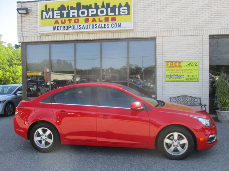 2015 Chevrolet Cruze for sale at Metropolis Auto Sales in Pelham NH