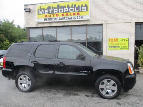 2007 GMC Yukon for sale at Metropolis Auto Sales in Pelham NH