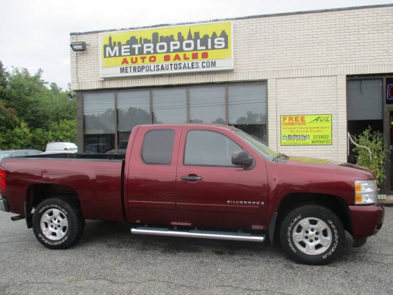 2008 Chevrolet Silverado 1500 for sale at Metropolis Auto Sales in Pelham NH