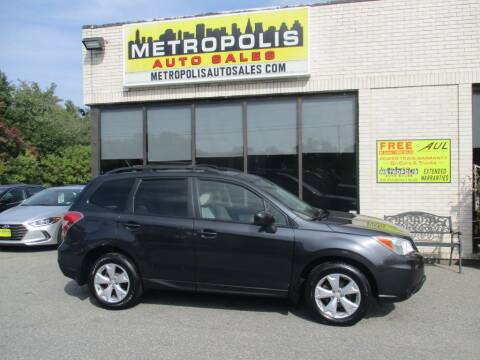2015 Subaru Forester for sale at Metropolis Auto Sales in Pelham NH