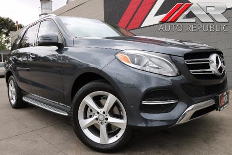 2016 Mercedes-Benz GLE for sale in Fullerton, CA