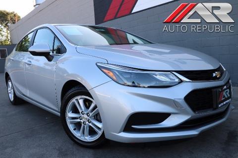 2016 Chevrolet Cruze for sale in Fullerton, CA