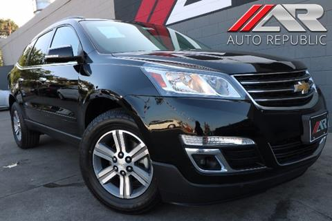 2016 Chevrolet Traverse for sale in Fullerton, CA