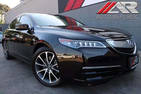 2015 Acura TLX for sale in Fullerton, CA