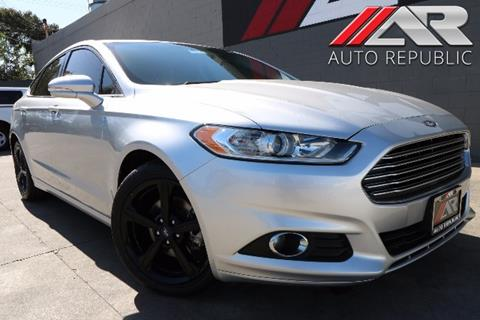 2016 Ford Fusion for sale in Fullerton, CA