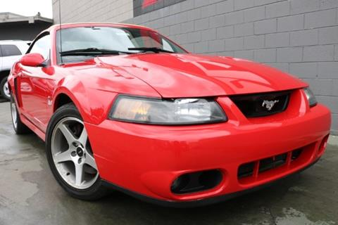 Ford Mustang Svt Cobra For Sale Carsforsale Com